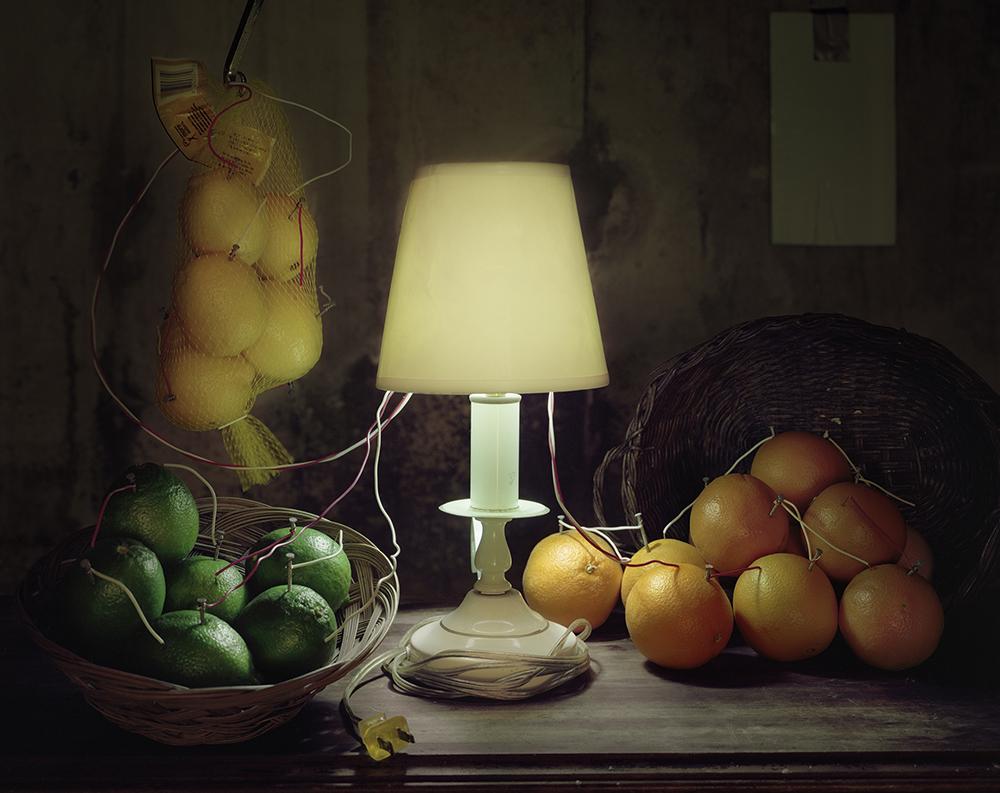 Fruktbatteri (citrus). Stilleben, 2012.